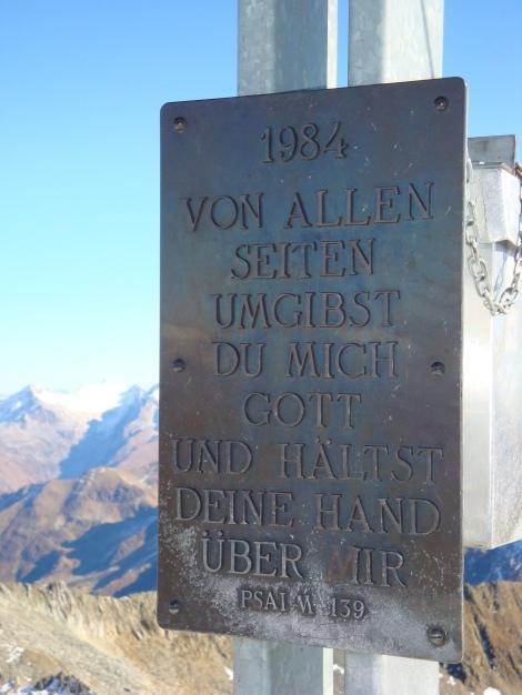 Foto: Manfred Karl / Wander Tour / Gratwanderung Böses Weibele – Tschadinhorn - Schönleitenspitze / 31.08.2009 20:19:18