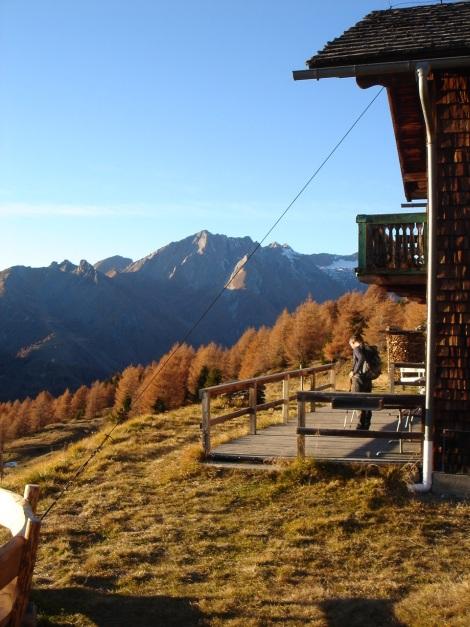 Foto: Manfred Karl / Wander Tour / Gratwanderung Böses Weibele – Tschadinhorn - Schönleitenspitze / Lesachriegelhütte / 31.08.2009 20:06:29