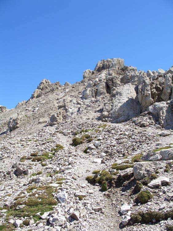 Foto: vince 51 / Wander Tour / vom Hahntennjoch auf den hinteren Scharnitzkopf / kurz vor dem Gipfel / 05.07.2009 23:42:21