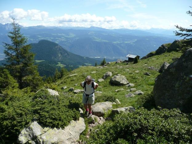 Foto: Manfred Karl / Wander Tour / Vom Gampenjoch auf die Laugenspitze / 31.08.2009 18:55:07