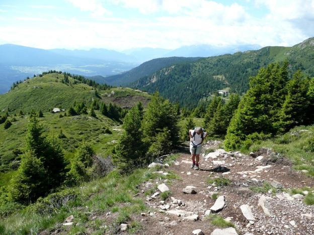 Foto: Manfred Karl / Wander Tour / Vom Gampenjoch auf die Laugenspitze / 31.08.2009 18:54:55