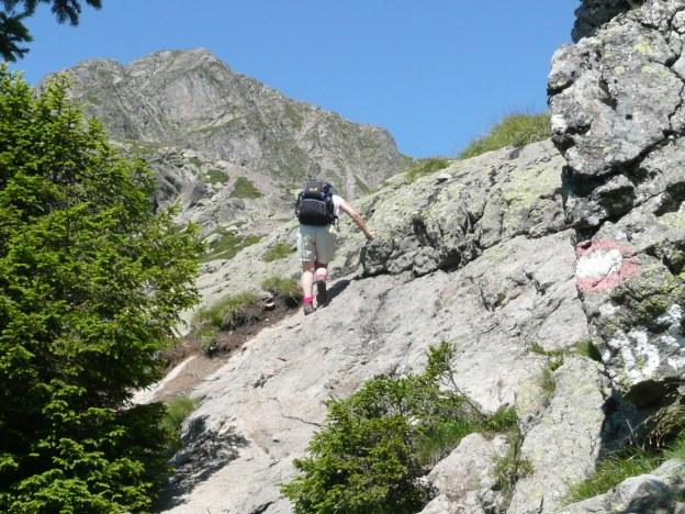 Foto: Manfred Karl / Wander Tour / Vom Gampenjoch auf die Laugenspitze / Kurz vor dem Laugensee / 31.08.2009 18:53:55