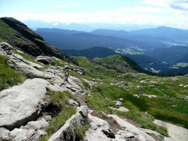 Foto: Manfred Karl / Wander Tour / Vom Gampenjoch auf die Laugenspitze / 31.08.2009 18:53:37