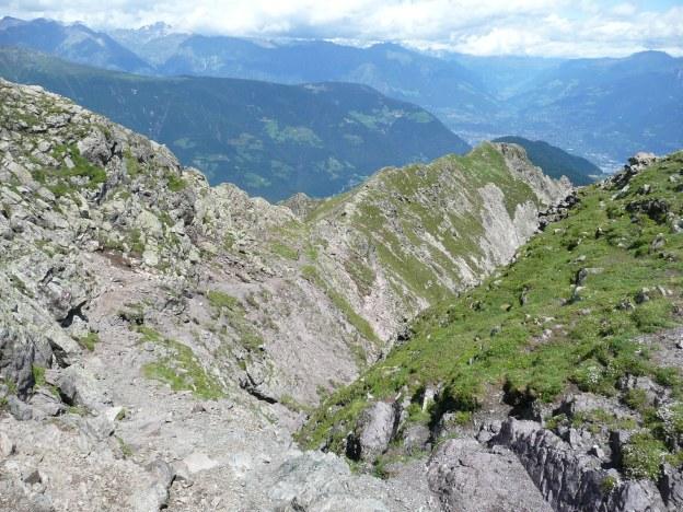 Foto: Manfred Karl / Wander Tour / Vom Gampenjoch auf die Laugenspitze / Gr. Laugen Nordgrat / 31.08.2009 18:50:23