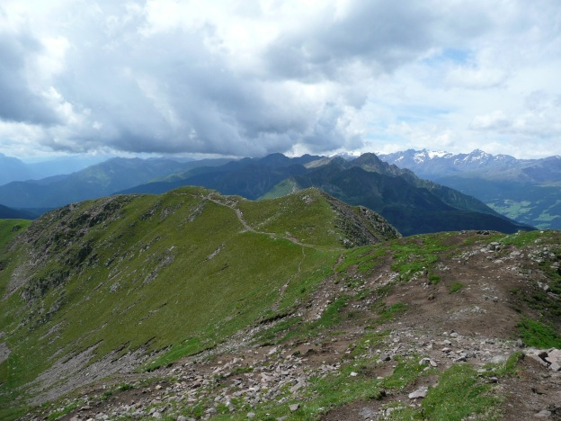 Foto: Manfred Karl / Wander Tour / Vom Gampenjoch auf die Laugenspitze / Der Abstiegsweg / 31.08.2009 18:49:23