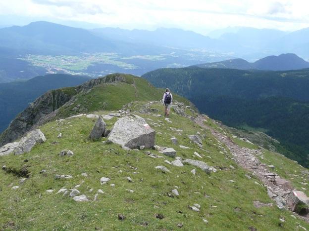 Foto: Manfred Karl / Wander Tour / Vom Gampenjoch auf die Laugenspitze / Am Südkamm der Großen Laugen / 31.08.2009 18:48:01