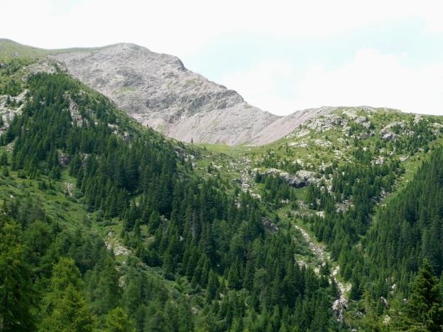 Foto: Manfred Karl / Wander Tour / Vom Gampenjoch auf die Laugenspitze / Laugenspitze Südostgrat / 31.08.2009 18:45:49