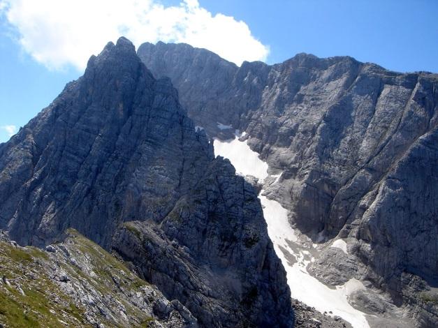 Foto: Manfred Karl / Wander Tour / Schärtenspitze, 2153 m / Blaueisspitze - Hochkalter / 31.08.2009 18:40:27