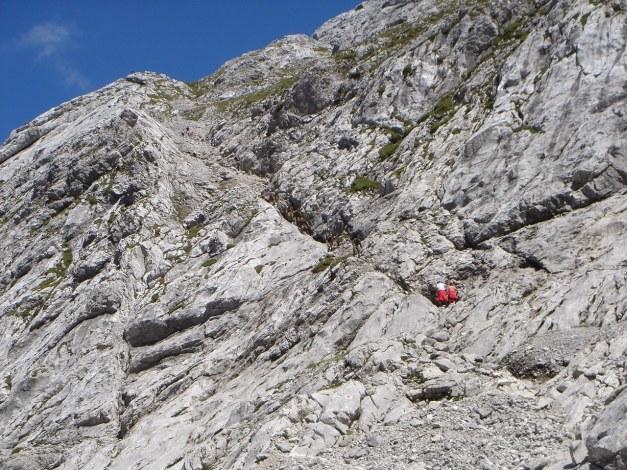 Foto: Manfred Karl / Wander Tour / Schärtenspitze, 2153 m / Die Einstiegsrampe zur Schärtenspitze / 31.08.2009 18:37:54