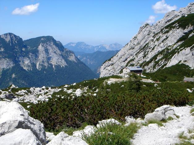 Foto: Manfred Karl / Wander Tour / Schärtenspitze, 2153 m / Blaueishütte / 31.08.2009 18:37:19