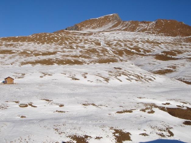 Foto: Manfred Karl / Wander Tour / Figerhorn - Aussichtstribüne mit Glocknerblick / Der lange Hang zum Gipfel / 31.08.2009 16:45:12