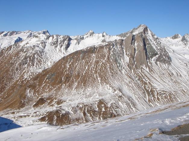 Foto: Manfred Karl / Wander Tour / Figerhorn - Aussichtstribüne mit Glocknerblick / Einsamste Gipfel im Vorfeld des Großglockner / 31.08.2009 16:43:25