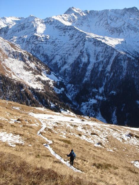 Foto: Manfred Karl / Wander Tour / Figerhorn - Aussichtstribüne mit Glocknerblick / 31.08.2009 16:41:28