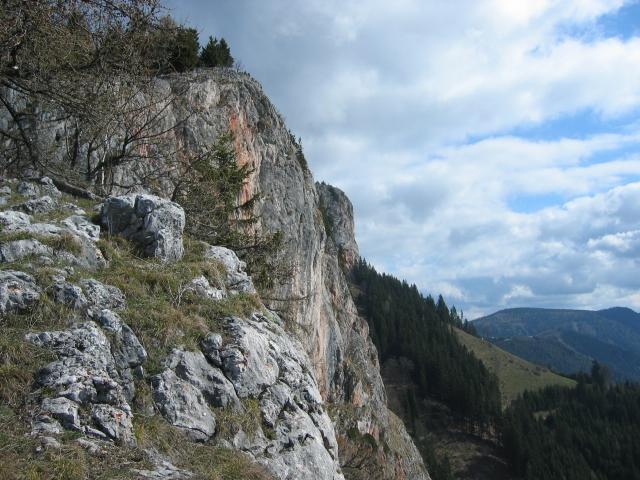 Foto: pepi4813 / Wander Tour / Überschreitung der Roten Wand / Aufstiegsweg entlang der Roten Wand / 09.07.2009 21:51:33