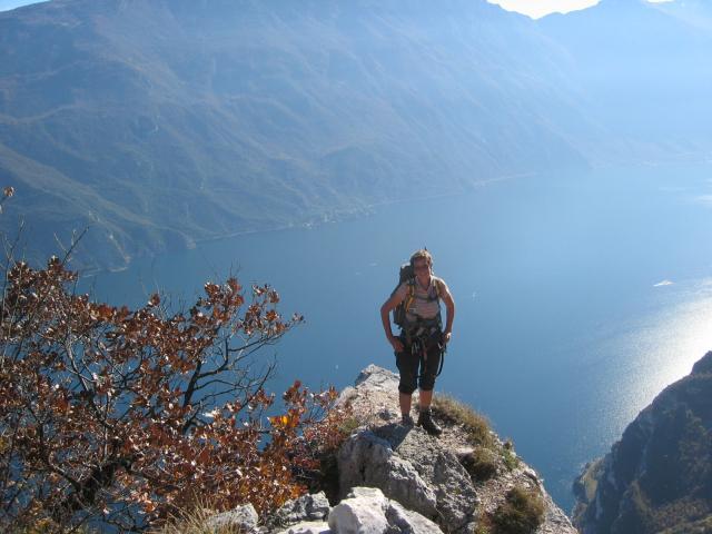 Foto: pepi4813 / Klettersteig Tour / Auf dem Sentiero Fausto Susatti zur Cima Capi / Am Susatti Klettersteig / 10.07.2009 21:33:55