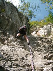 Foto: Kurt Schall / Kletter Tour / Nix für Hampler / 11.07.2009 13:26:10