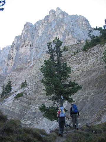Foto: pepi4813 / Wander Tour / Günther-Messner-Steig / Aufstieg vom Russiskreuz / 11.07.2009 23:07:45