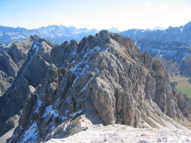 Foto: pepi4813 / Wander Tour / Günther-Messner-Steig / Blick vom Tullen auf den Günther-Messner-Steig / 11.07.2009 23:10:51
