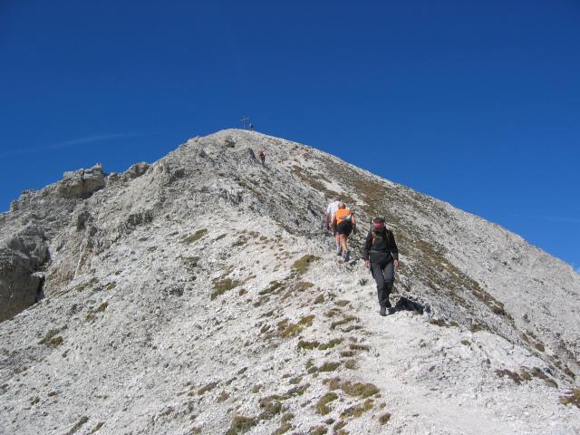 Foto: pepi4813 / Wander Tour / Günther-Messner-Steig / Gipfelanstieg zum Tullen / 11.07.2009 23:08:58