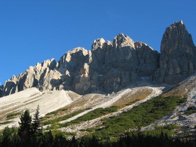 Foto: pepi4813 / Wander Tour / Günther-Messner-Steig / Rückweg unterhalb der Aferer Geisel / 11.07.2009 23:11:13