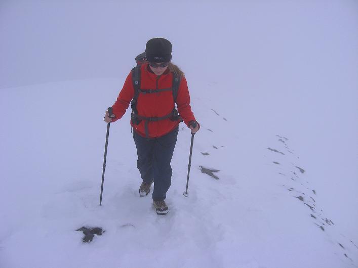 Foto: Andreas Koller / Wander Tour / Auf klassischer Route auf den Titlis (3239 m) / Unterwegs am NW-Grat / 15.07.2009 19:31:29