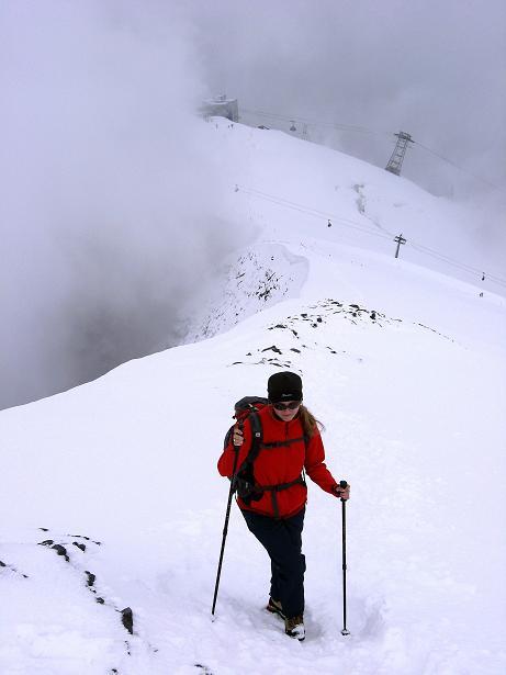 Foto: Andreas Koller / Wander Tour / Auf klassischer Route auf den Titlis (3239 m) / Der NW-Grat / 15.07.2009 19:30:22