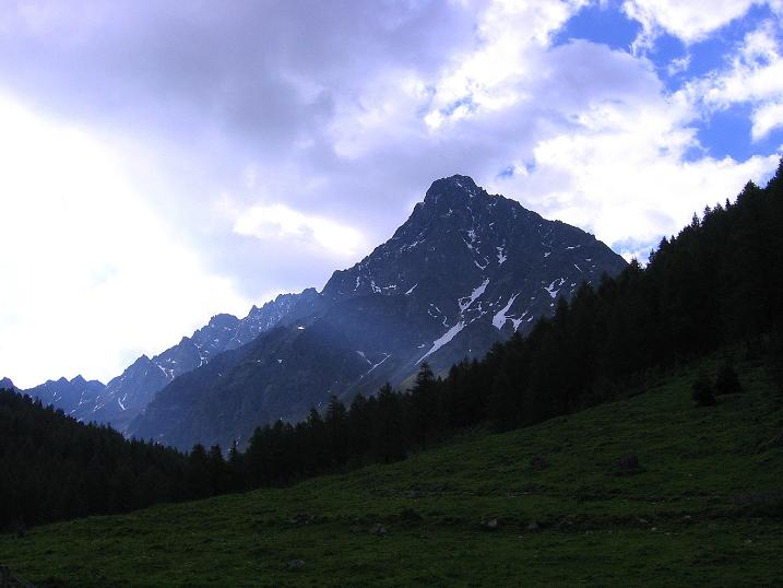 Foto: Andreas Koller / Kletter Tour / Überschreitung der Madatschtürme (2837m) / Schwabenkopf (3378 m) / 16.07.2009 17:45:40