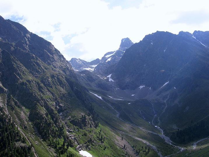 Foto: Andreas Koller / Kletter Tour / Überschreitung der Madatschtürme (2837m) / Rofelewand (3353 m) / 16.07.2009 17:40:34