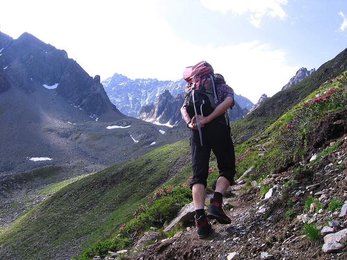 Foto: Andreas Koller / Kletter Tour / Überschreitung der Madatschtürme (2837m) / 16.07.2009 17:40:16