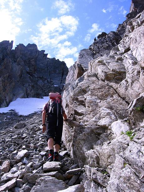 Foto: Andreas Koller / Kletter Tour / Überschreitung der Madatschtürme (2837m) / 16.07.2009 17:37:37