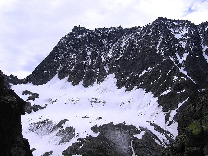 Foto: Andreas Koller / Kletter Tour / Überschreitung der Madatschtürme (2837m) / Die mächtige Watzespitze (3532 m) / 16.07.2009 17:36:30