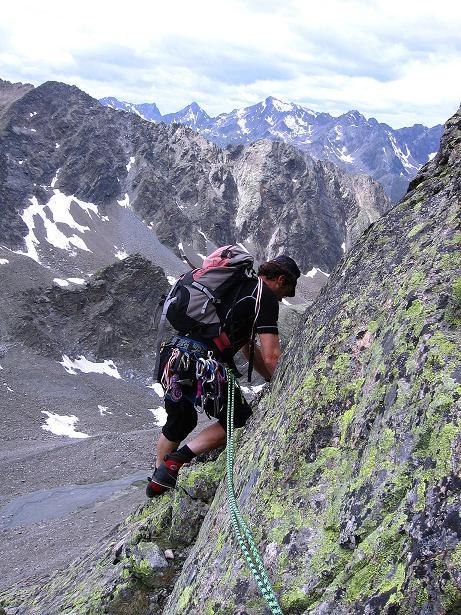 Foto: Andreas Koller / Kletter Tour / Überschreitung der Madatschtürme (2837m) / 16.07.2009 17:35:57