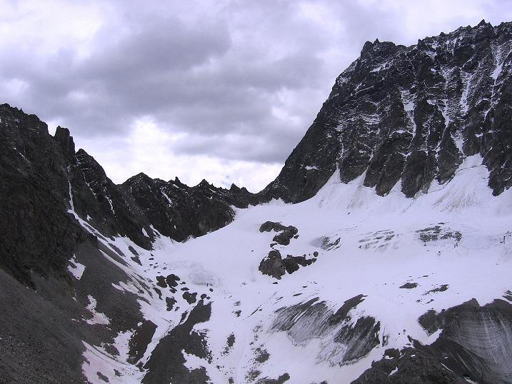 Foto: Andreas Koller / Kletter Tour / Überschreitung der Madatschtürme (2837m) / Watzespitze (3532 m), Madatschjoch und Madatschferner / 16.07.2009 17:35:13