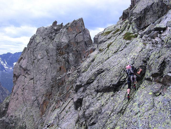Foto: Andreas Koller / Kletter Tour / Überschreitung der Madatschtürme (2837m) / 16.07.2009 17:33:46