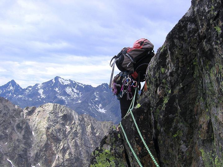 Foto: Andreas Koller / Kletter Tour / Überschreitung der Madatschtürme (2837m) / 16.07.2009 17:33:19