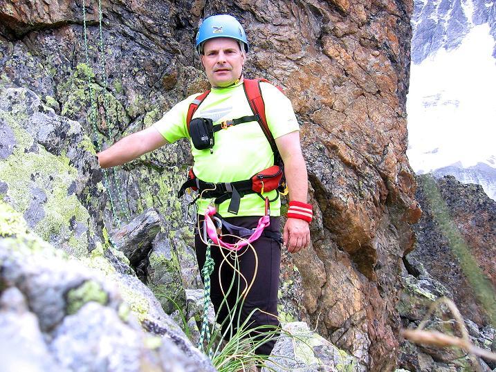 Foto: Andreas Koller / Kletter Tour / Überschreitung der Madatschtürme (2837m) / 16.07.2009 17:33:02