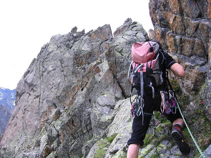 Foto: Andreas Koller / Kletter Tour / Überschreitung der Madatschtürme (2837m) / 16.07.2009 17:31:51