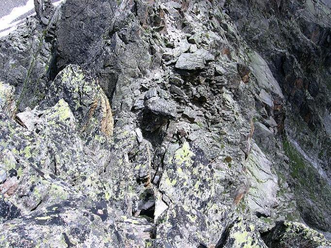 Foto: Andreas Koller / Kletter Tour / Überschreitung der Madatschtürme (2837m) / Kletterroute zum höchsten Turm / 16.07.2009 17:28:48