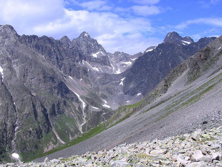 Foto: Andreas Koller / Kletter Tour / Überschreitung der Madatschtürme (2837m) / 16.07.2009 17:18:33