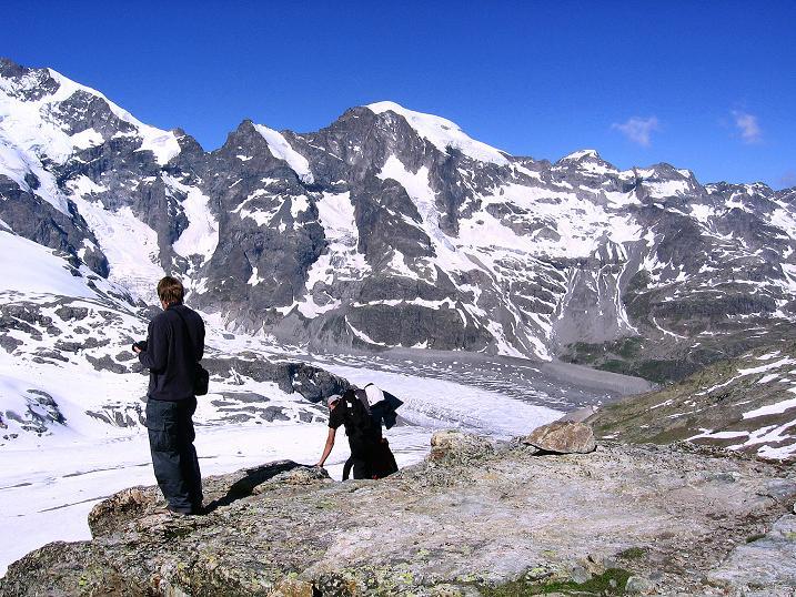 Foto: Andreas Koller / Klettersteig Tour / Klettersteig Piz Trovat (3146m) / 18.07.2009 00:15:38