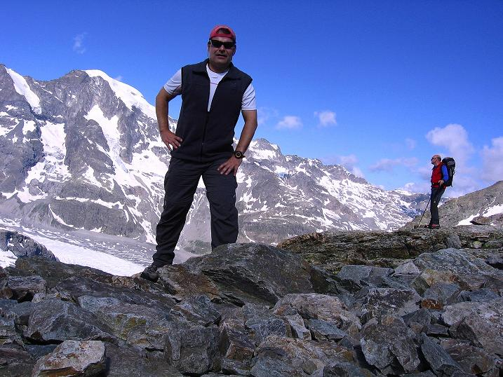 Foto: Andreas Koller / Klettersteig Tour / Klettersteig Piz Trovat (3146m) / 18.07.2009 00:15:18