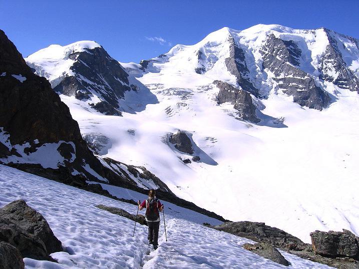 Foto: Andreas Koller / Klettersteig Tour / Klettersteig Piz Trovat (3146m) / 18.07.2009 00:15:05