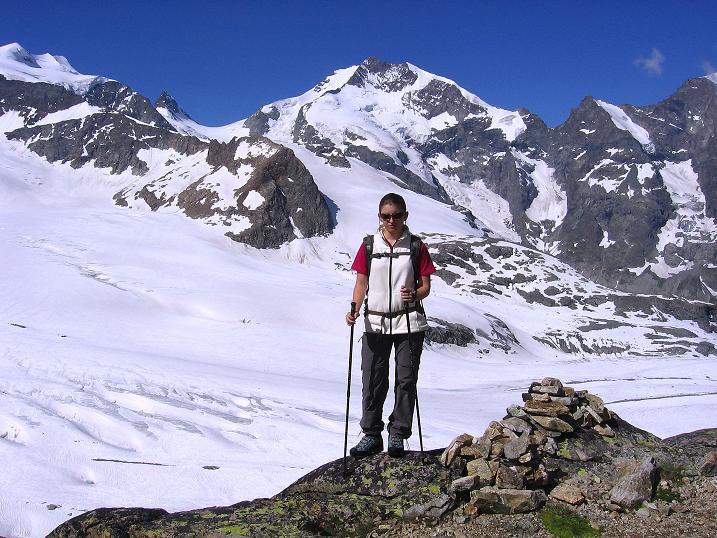 Foto: Andreas Koller / Klettersteig Tour / Klettersteig Piz Trovat (3146m) / 18.07.2009 00:14:54
