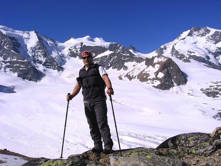 Foto: Andreas Koller / Klettersteig Tour / Klettersteig Piz Trovat (3146m) / 18.07.2009 00:14:41