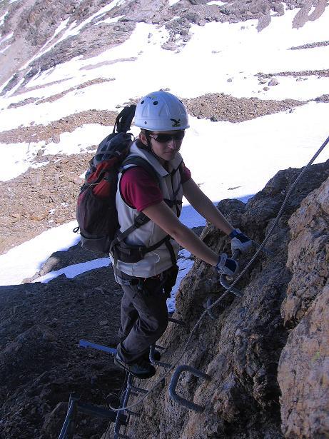 Foto: Andreas Koller / Klettersteig Tour / Klettersteig Piz Trovat (3146m) / 18.07.2009 00:13:28