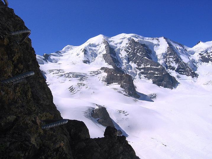 Foto: Andreas Koller / Klettersteig Tour / Klettersteig Piz Trovat (3146m) / 18.07.2009 00:13:11
