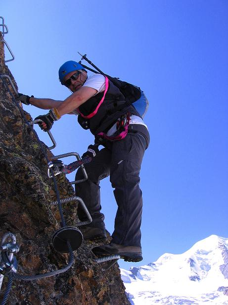 Foto: Andreas Koller / Klettersteig Tour / Klettersteig Piz Trovat (3146m) / 18.07.2009 00:13:02