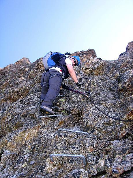 Foto: Andreas Koller / Klettersteig Tour / Klettersteig Piz Trovat (3146m) / 18.07.2009 00:12:17
