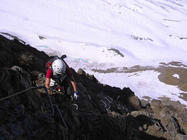 Foto: Andreas Koller / Klettersteig Tour / Klettersteig Piz Trovat (3146m) / 18.07.2009 00:11:58