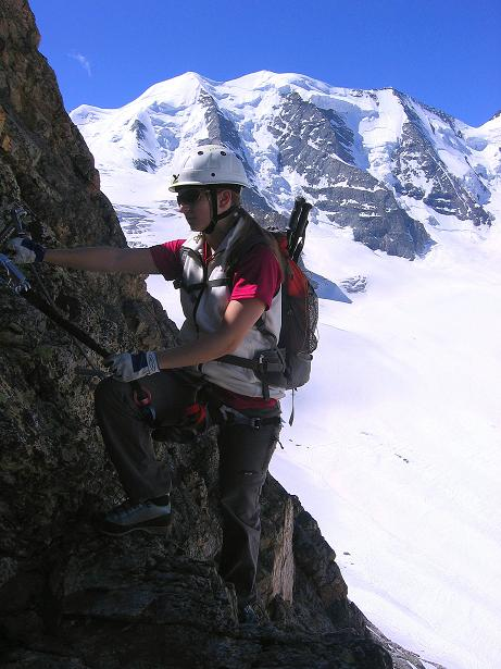 Foto: Andreas Koller / Klettersteig Tour / Klettersteig Piz Trovat (3146m) / 18.07.2009 00:11:49
